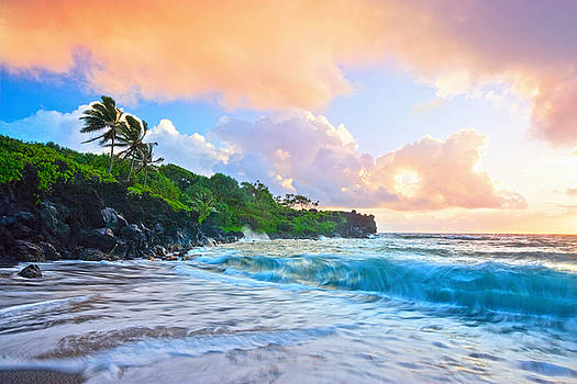 Sunrise Paradise Hawaii by Monica and Michael Sweet