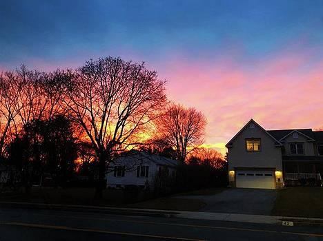 Sunrise Photos From This Morning. Taken by Megan Bishop