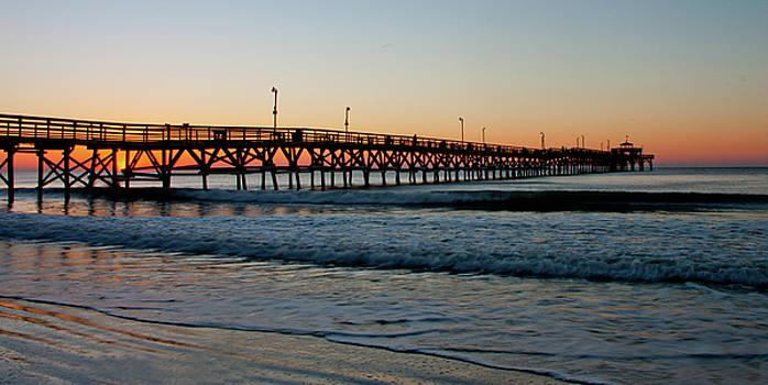 Sunrise Pier by Ree Reid