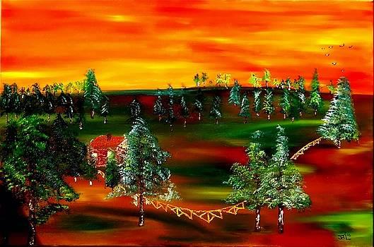 James Bryron Love - Sunrise Prairie