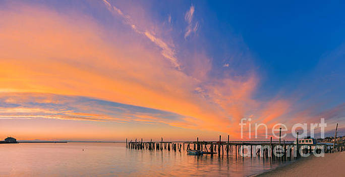 Sunrise Provincetown, Cape Cod, Massachusetts by Henk Meijer Photography