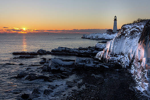 Sunrise Reflection by Darryl Hendricks