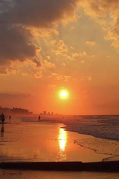 Sunrise Reflections South Carolina by Theresa Campbell