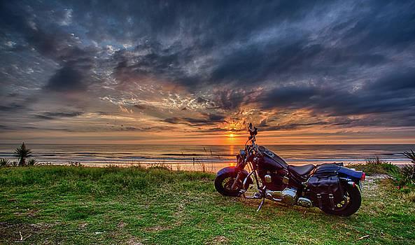 Sunrise Ride by Dillon Kalkhurst