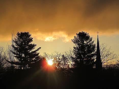 Sunrise Silhouettes by Loretta Pokorny