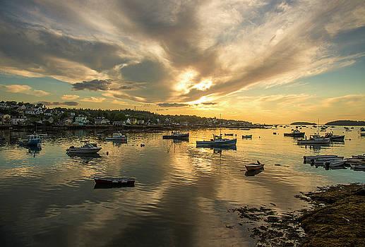 Sunrise - Stonington, Maine by Gordon Ripley