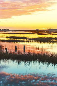 Sunrise Sunset Art Photo - Peace Train by Jo Ann Tomaselli