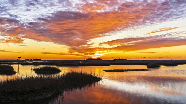 Sunrise Sunset Art Photo - Volcano 2 by Jo Ann Tomaselli