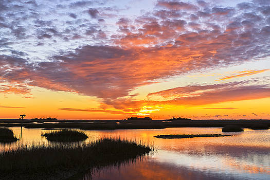 Sunrise Sunset Art Photo - Volcano by Jo Ann Tomaselli