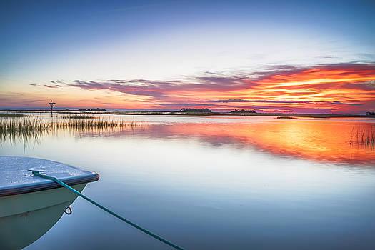 Sunrise Sunset Image Art - Thanksgiving by Jo Ann Tomaselli