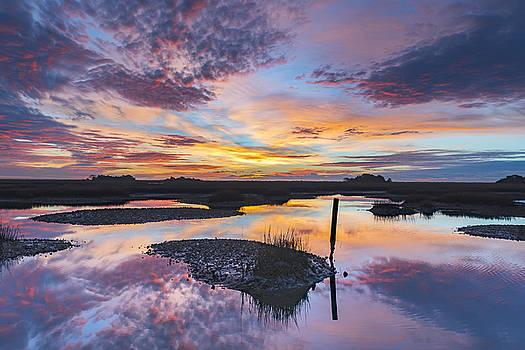 Sunrise Sunset Phot Art - Graffiti Sky by Jo Ann Tomaselli