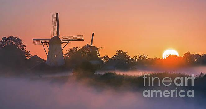 Sunrise Ten Boer - Netherlands by Henk Meijer Photography