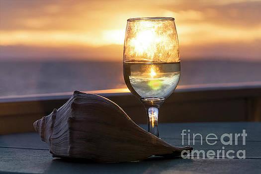 Award Winning Sunrise Wine by Carol Bilodeau