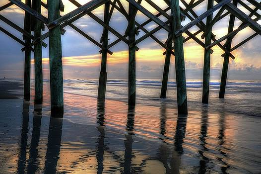 Carol Montoya - Sunrise Under Folly Pier II