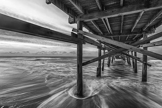 Sunrise under the Pier by Nick Noble