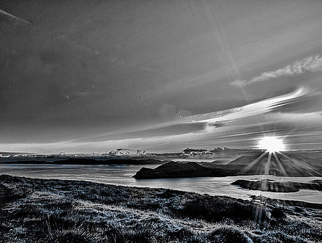 Leif Sohlman - Sunrise Valentia island BW #f2