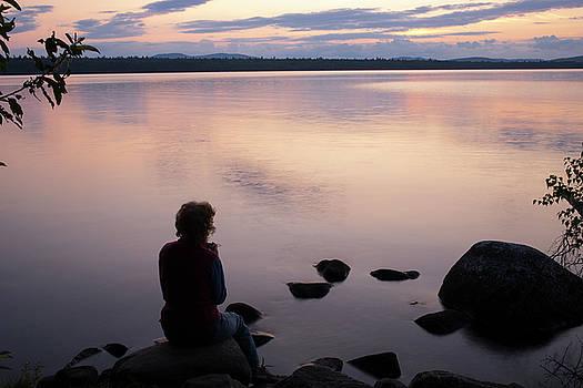 Sunrise Watcher by Morgain Bailey