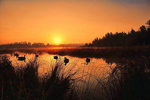 Dale Kauzlaric - Sunrise Waterfowl Hunt