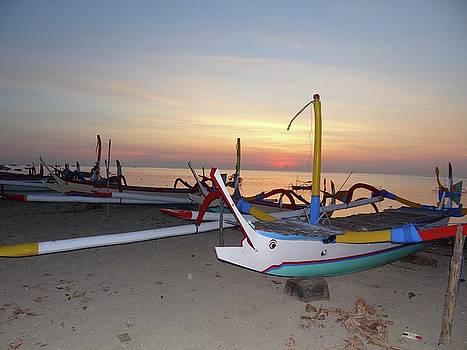 Sunrise With Boats by Exploramum Exploramum
