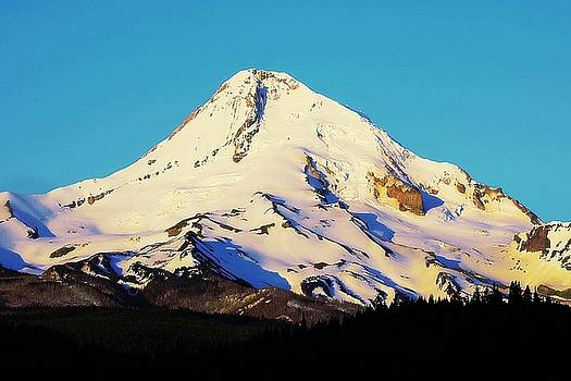 Sunrise with Mt. Hood by Steve Warnstaff