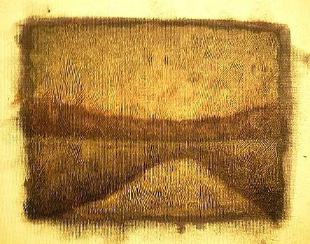Sunrise Wood Lake by Jaylynn Johnson