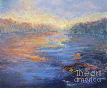 Sunrise on the Canal by Vivian Haberfeld