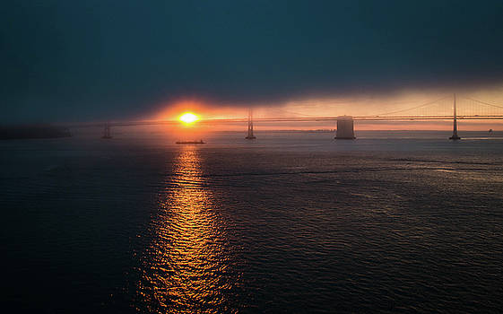 Rosemary Woods-Desert Rose Images - Sunrising at San Francisco Bay Bridge-IMG_007116