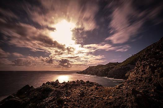 Sunset On Mizen Head by Jan Schwarz