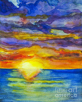 Sunset 1 by Suzette Kallen