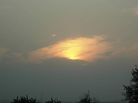 Sunset-3 by Karuna Ahluwalia