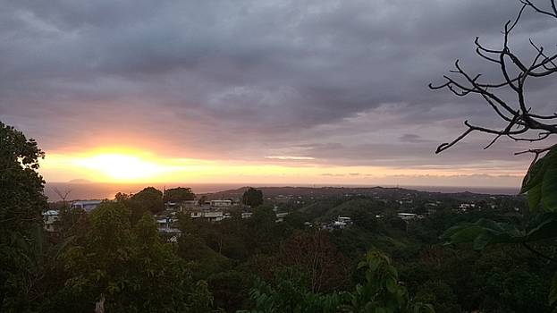 Sunset Above Rincon by Sheryl Chapman Photography