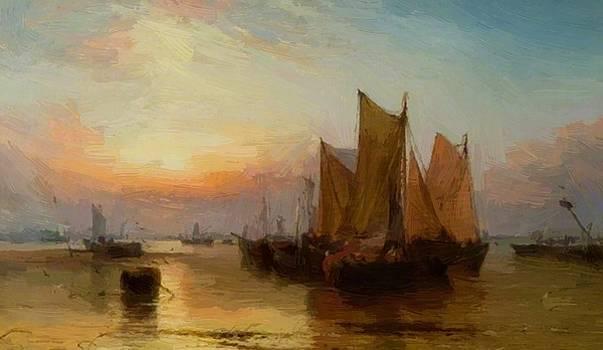 Webb James - Sunset After Rain 1875