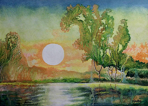 Sunset by Alexander Dudchin