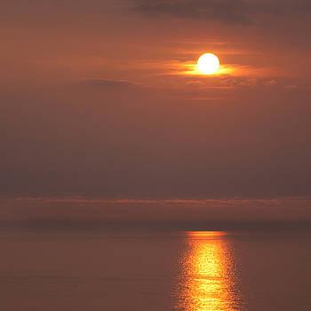 Angel  Tarantella - sunset