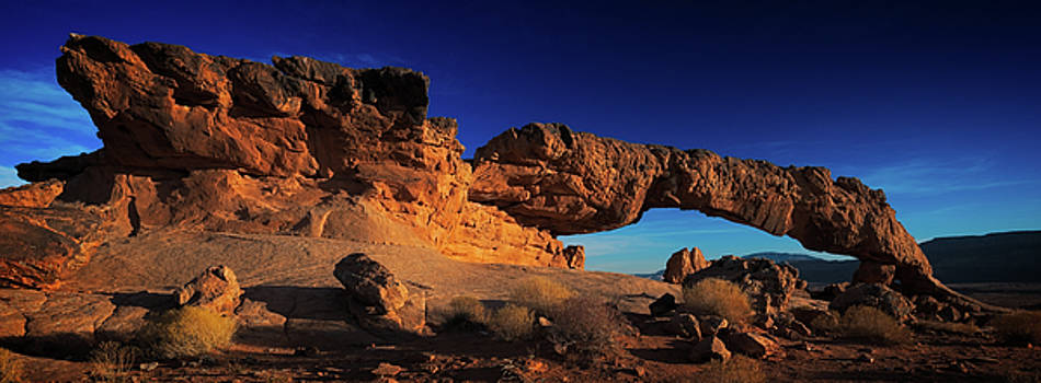Sunset Arch Pano by Edgars Erglis