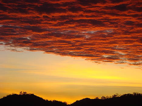 Baslee Troutman - SUNSET Art Prints Canvas Orange Clouds Twilight Sky Baslee Troutman