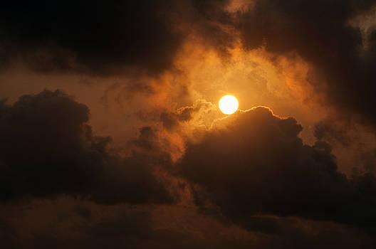 Sunset at Aruba by Allen Carroll