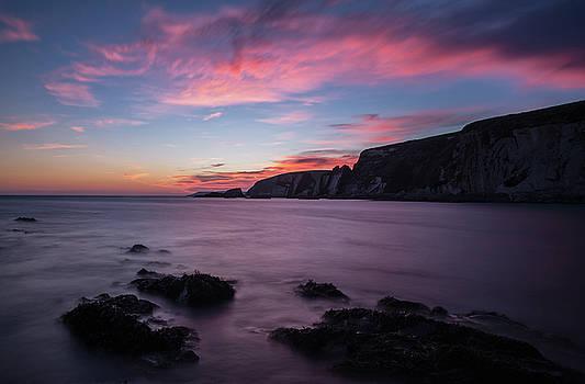 Sunset at Ayrmer Cove by Pete Hemington