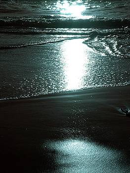 Sunset at Beach by Julie Lourenco