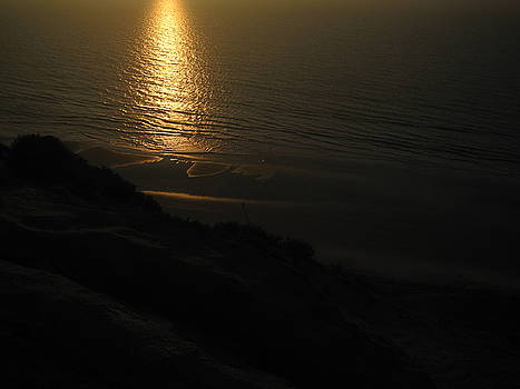 Sunset at Blacks Beach by Paintings by Parish