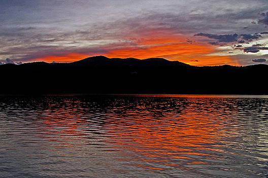 James Steele - Sunset at Carter Lake CO