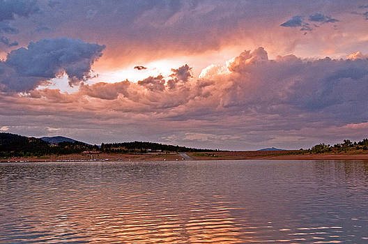 James Steele - Sunset at Carter Lake Colorado