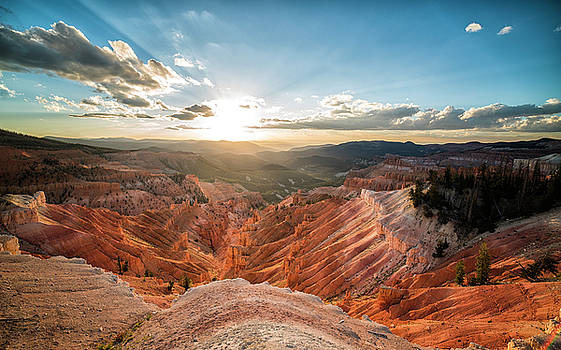 Sunset at Cedar Breaks by Tony Fuentes