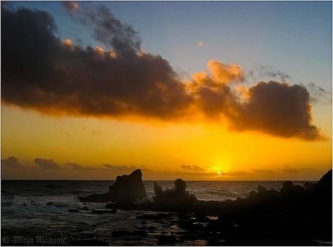 Sunset at Dragon Island 2 by Mirza Ajanovic