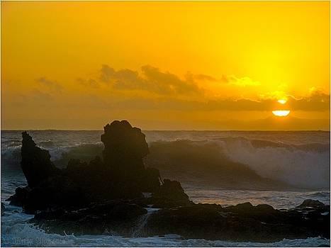 Sunset at Dragon Island by Mirza Ajanovic