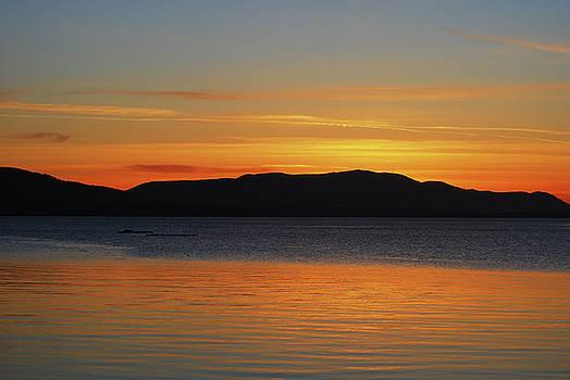 Sunset at Glass Beach by Matthew Hall
