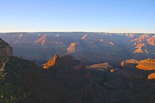 Sunset at Grand Canyon by Melany Raubolt