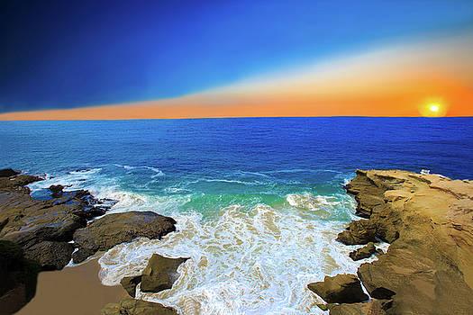 Sunset at Laguna Beach by Kay Kochenderfer