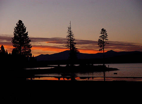 Peter Piatt - Sunset at Lake Almanor 02