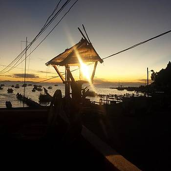 Sunset At Lake Titicaca. Stunning But by Dante Harker